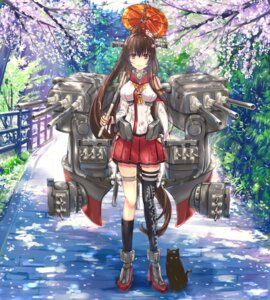 Rating: Safe Score: 73 Tags: heels kantai_collection kntrs neko thighhighs umbrella yamato_(kancolle) User: Mr_GT
