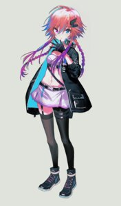 Rating: Safe Score: 18 Tags: garter hayama_eishi ninomiya_asuka stockings the_idolm@ster the_idolm@ster_cinderella_girls thighhighs User: Dreista
