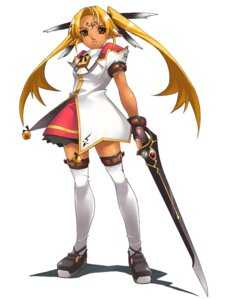 Rating: Safe Score: 5 Tags: dress elf gakuen_toshi_vara_noir hirano_katsuyuki idea_factory pointy_ears seifuku sword tarnard thighhighs User: Radioactive