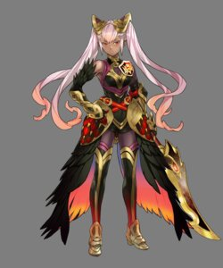 Rating: Questionable Score: 7 Tags: armor duplicate fire_emblem fire_emblem_heroes heels laevatein maeshima_shigeki nintendo sword thighhighs transparent_png User: Radioactive