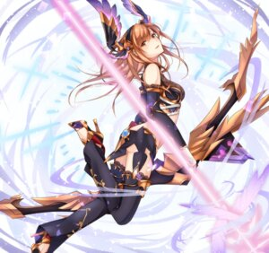 Rating: Safe Score: 33 Tags: granblue_fantasy heels kirbyffcc song_(granblue_fantasy) thighhighs weapon User: Mr_GT