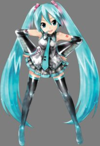 Rating: Safe Score: 38 Tags: hatsune_miku headphones kei tattoo thighhighs transparent_png vocaloid User: Radioactive
