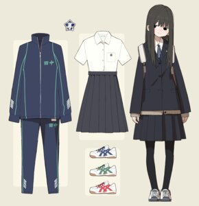 Rating: Safe Score: 14 Tags: character_design gym_uniform kumanoi_(nichols) pantyhose seifuku User: Radioactive