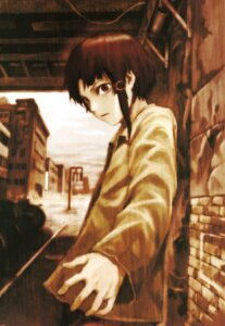 Rating: Safe Score: 8 Tags: abe_yoshitoshi iwakura_lain serial_experiments_lain User: blooregardo