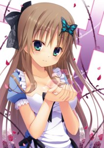 Rating: Safe Score: 80 Tags: cleavage dress hapymaher toriumi_arisu yuzuka User: mash