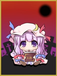 Rating: Safe Score: 5 Tags: genkai_madika patchouli_knowledge touhou User: Radioactive