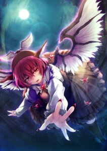 Rating: Safe Score: 18 Tags: cff mystia_lorelei touhou wings User: Mr_GT