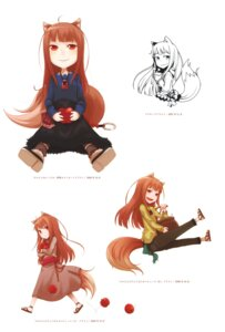 Rating: Safe Score: 11 Tags: animal_ears ayakura_juu holo spice_and_wolf tail User: Radioactive