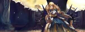 Rating: Safe Score: 21 Tags: fate/stay_night fate/zero rifsom saber User: Radioactive