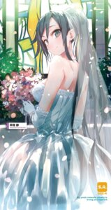 Rating: Safe Score: 45 Tags: dress hiratsuka_shizuka ponkan_8 tagme wedding_dress yahari_ore_no_seishun_lovecome_wa_machigatteiru. User: kiyoe