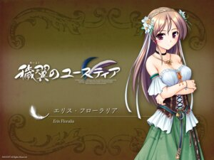 Rating: Safe Score: 32 Tags: aiyoku_no_eustia august bekkankou dress eris_floralia wallpaper User: Devard