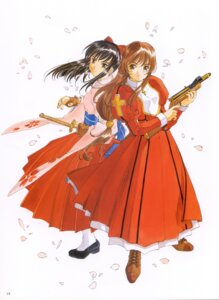 Rating: Safe Score: 4 Tags: erica_fontaine sakura_taisen sakura_taisen_iii shinguuji_sakura User: Radioactive