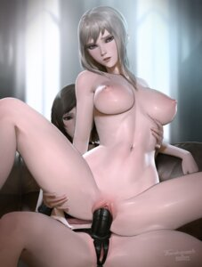 Rating: Explicit Score: 136 Tags: final_fantasy_xv iris_amicitia naked nipples pussy strap-on tarakanovich uncensored yuri User: Mr_GT