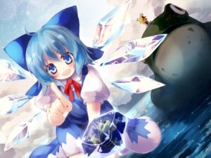 Rating: Safe Score: 12 Tags: cirno gen-getsu moriya_suwako touhou wallpaper User: Mr_GT