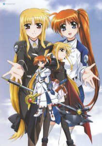 Rating: Safe Score: 10 Tags: fate_testarossa mahou_shoujo_lyrical_nanoha mahou_shoujo_lyrical_nanoha_strikers mahou_shoujo_lyrical_nanoha_the_movie_1st pantyhose takamachi_nanoha User: daemonaf2