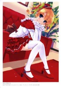 Rating: Safe Score: 73 Tags: dress k-books kuroya_shinobu thighhighs User: WtfCakes