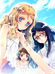 Rating: Safe Score: 7 Tags: charlotte_francia chinadress dress juni_argiano li_shuhua littlewitch megane oyari_ashito quartett! summer_dress User: petopeto