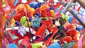 Rating: Questionable Score: 19 Tags: kimono sword thighhighs tsurushima_tatsumi wallpaper User: nphuongsun93