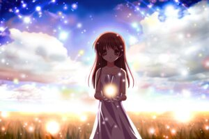 Rating: Safe Score: 16 Tags: clannad dress girl_from_the_illusionary_world summer_dress User: sdlin2006