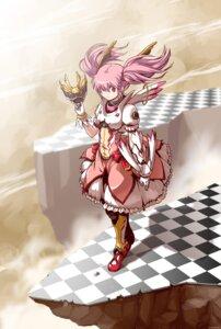 Rating: Safe Score: 16 Tags: crossover dress kamen_rider kamen_rider_dragon_knight kaname_madoka kanekotsu puella_magi_madoka_magica User: Kaixa