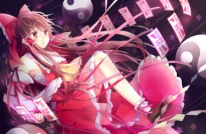 Rating: Safe Score: 32 Tags: hakurei_reimu miko niyou touhou User: tbchyu001