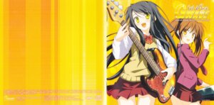 Rating: Safe Score: 6 Tags: disc_cover guitar gwave seifuku shida_kazuhiro User: alimilena