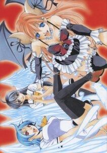 Rating: Safe Score: 4 Tags: cleavage horns megane princess_lucia seifuku seo_kouji tagme thighhighs User: Radioactive