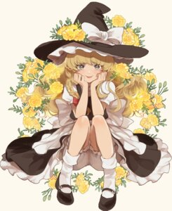 Rating: Safe Score: 20 Tags: bloomers dress joniko1110 kirisame_marisa skirt_lift touhou witch User: Dreista