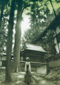 Rating: Safe Score: 16 Tags: amatsume_akira hashimoto_takashi miko sphere yosuga_no_sora User: petopeto