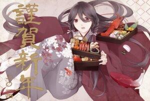 Rating: Safe Score: 9 Tags: japanese_clothes kimono sekiyu User: Radioactive