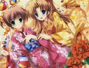 Rating: Safe Score: 30 Tags: asagiri_mai kimono mikeou takamizawa_natsuki yoake_mae_yori_ruriiro_na User: chrispig