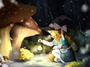 Rating: Safe Score: 12 Tags: kirisame_marisa pantyhose pokemon shroomish tendo_(zhazhatiantong) touhou witch User: Mr_GT