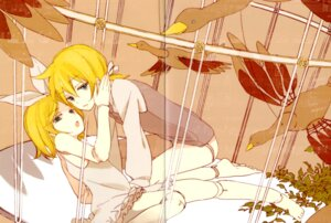Rating: Safe Score: 8 Tags: crease kagamine_len kagamine_rin loo one_way vocaloid User: Radioactive