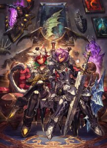 Rating: Safe Score: 12 Tags: animal_ears armor au_ra final_fantasy final_fantasy_xiv miqo'te sa-dui sword tail User: Mr_GT