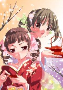 Rating: Safe Score: 13 Tags: chain-reaction fukuzawa_yumi kamiya_maneki kimono maria-sama_ga_miteru matsudaira_touko User: fireattack