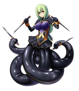 Rating: Questionable Score: 13 Tags: bodysuit monster_girl tagme taimanin_asagi tentacles weapon User: Radioactive