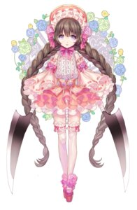 Rating: Safe Score: 28 Tags: box_(hotpppink) dress megane thighhighs User: KazukiNanako