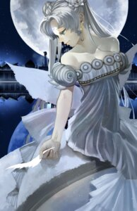 Rating: Safe Score: 15 Tags: cleavage dress princess_serenity sailor_moon watagashi0710 wings User: charunetra