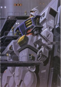Rating: Safe Score: 3 Tags: gundam mecha mobile_suit_gundam okawara_kunio User: Radioactive