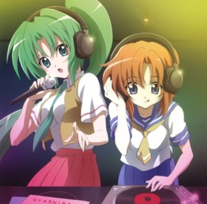 Rating: Safe Score: 26 Tags: headphones higurashi_no_naku_koro_ni ryuuguu_rena sakai_kyuuta sonozaki_mion User: Radioactive