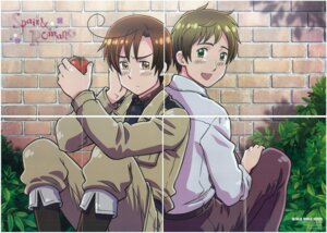 Rating: Safe Score: 2 Tags: crease gap hetalia_axis_powers jpeg_artifacts kannan_masaaki male south_italy spain User: lunalunasan