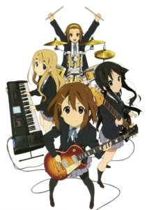 Rating: Safe Score: 25 Tags: akiyama_mio guitar hirasawa_yui jpeg_artifacts k-on! kotobuki_tsumugi pantyhose seifuku tainaka_ritsu User: Share