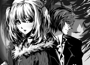 Rating: Safe Score: 10 Tags: amane_misa death_note itoh_ben l yagami_light User: jag