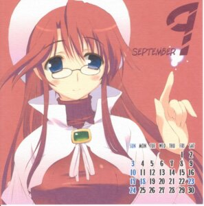 Rating: Safe Score: 5 Tags: amaduyu_tatsuki aty blazer_one calendar megane summon_night summon_night_3 User: Radioactive