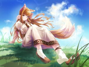 Rating: Safe Score: 13 Tags: animal_ears dress feet holo spice_and_wolf tagme tail User: dick_dickinson