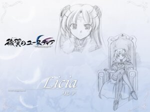 Rating: Safe Score: 8 Tags: aiyoku_no_eustia august bekkankou licia_de_novus_yurii sketch wallpaper User: Devard