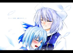 Rating: Safe Score: 4 Tags: cirno hazuki_rui letty_whiterock touhou User: Radioactive