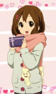 Rating: Safe Score: 24 Tags: amano_(els573) hirasawa_yui k-on! valentine User: Nekotsúh