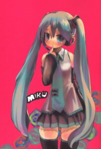 Rating: Safe Score: 9 Tags: hatsune_miku john_hathway thighhighs vocaloid User: brigfox