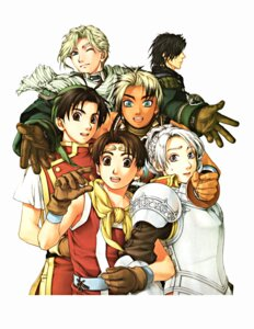 Rating: Safe Score: 3 Tags: armor chris_lightfellow eyepatch geddoe hugo ishikawa_fumi nash_latkje riou_genkaku suikoden suikoden_i suikoden_ii suikoden_iii tir_mcdohl User: Radioactive